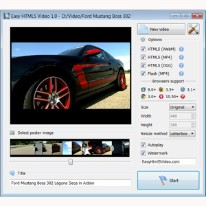 upload videos on your website